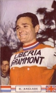 Henry Anglade en maillot Liberia Grammont